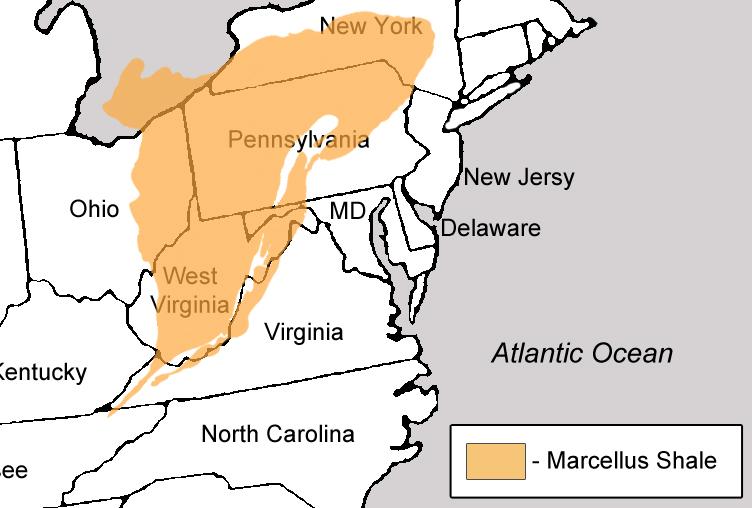 Marcellus Map